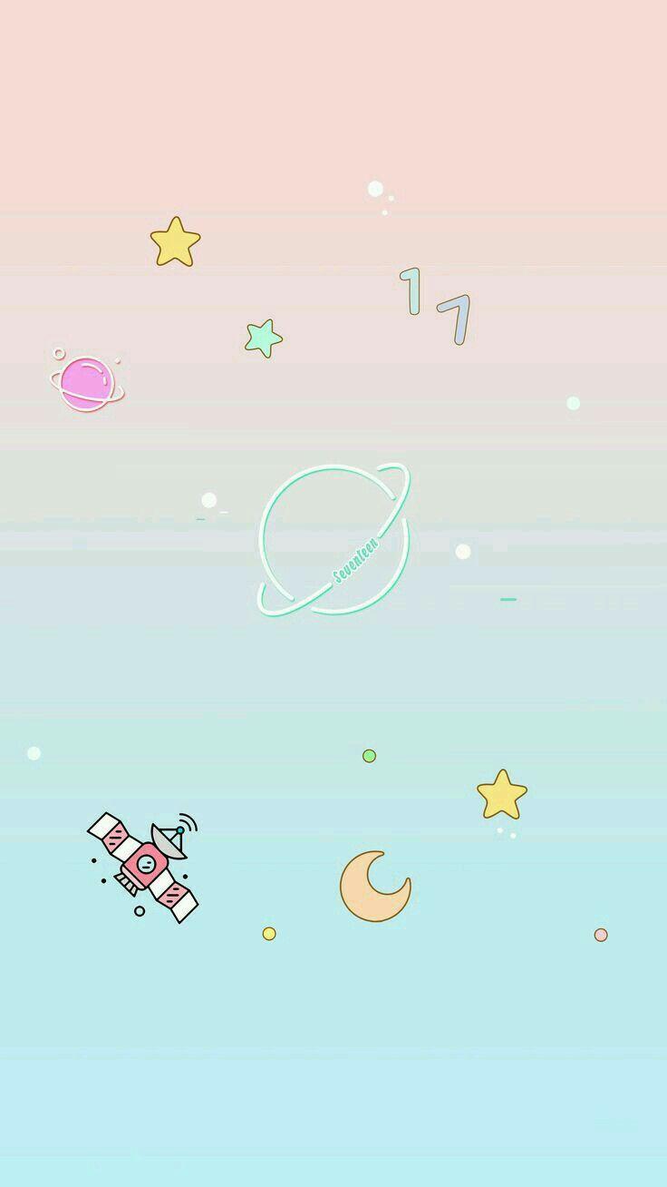 Space cute ♥ Espaço fofo ♥ +100 Iphone