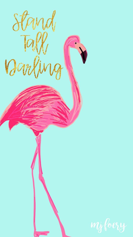 Flamingo Friday - Free Background - Atlantic Anchors +100 Iphone