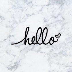 Cute Wallpaper: Hello +100 Iphone