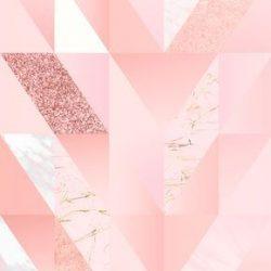 Download premium vector of Pink feminine geometric background vector 679969 +100 Iphone