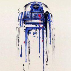 Minimal Painting Starwars Art Illustration iPhone 8 Wallpapers +100 Iphone