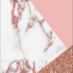 Pink White Marble Glitter Tumblr Wallpaper +100 Iphone