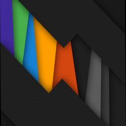 black rainbow colors . abstract +100 Iphone