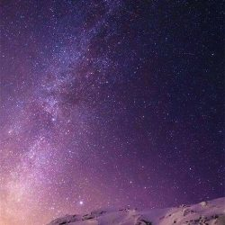 #sky #stars #space #mountain #cliff +100 Iphone
