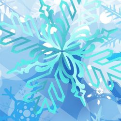 ↑↑TAP AND GET THE FREE APP! Art Abstract Winter Snowflake Cold Frost Blue HD iPhone 6 Wallpaper +100 Iphone
