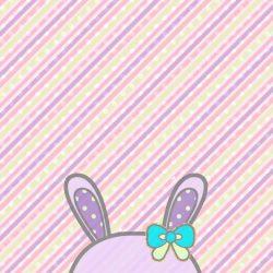 FREE iphone android wallpaper wallies pastel rabbit baby bows stripes polka dots! +100 Iphone