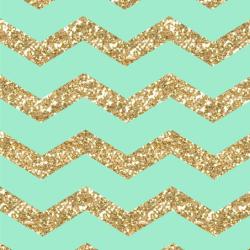 Freebie:  Gold & Mint Chevron iPhone 6 Wallpaper! +100 Iphone