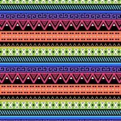 Neon Abstract Aztec Design +100 Iphone