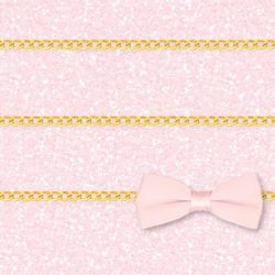 Pink glitter bow chain shelves background to iphone5 +100 Iphone