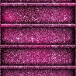 Pink purple glitter shelf style iPhone iPod wallpaper background +100 Iphone