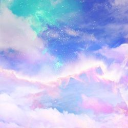 art cute kawaii sky design space galaxy pink clouds pastel digital art digital cloud arte digital photography Astronomy galaxies cosmic bubb... +100 Iphone