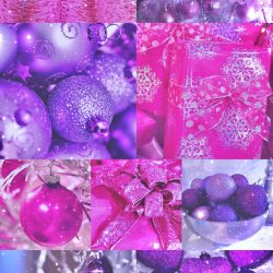 sparkly, Christmas, xmas, glitter, pink, purple, gifts, tree, wallpaper, background, iPhone, 6S, plus, 7 +100 Iphone