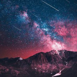 Earth Night Nature Mountain iPhone Wallpaper | +100 Iphone