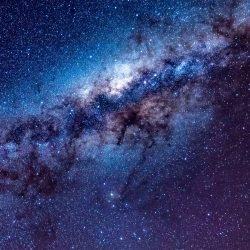 Milky way, starry sky, stars, space, lights, shine wallpaper | +100 Iphone