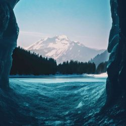 Mountain Glacier Ice Nature iPhone Wallpaper   +100 Iphone