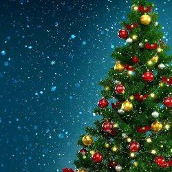Snow Christmas Tree iPhone Wallpaper   +100 Iphone