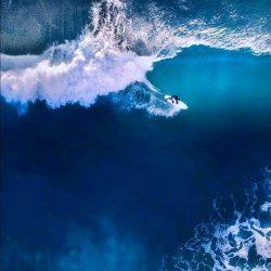 Surfing in Ocean iPhone Wallpaper | +100 Iphone