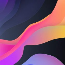 Waves of Color iPhone Wallpaper | +100 Iphone